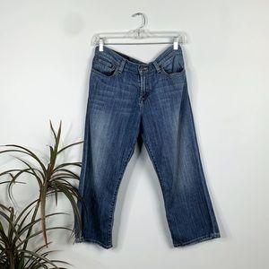 Lucky Brand Breeze Classic Crop Denim Jeans
